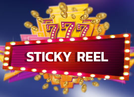 Sticky Reel - special slot option